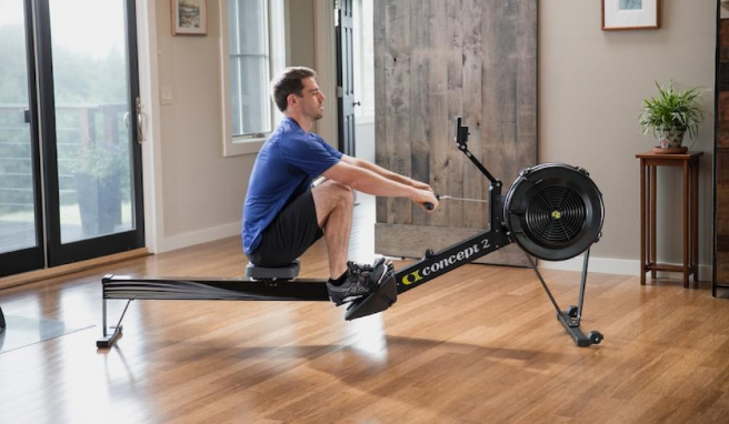 water rowing machine
