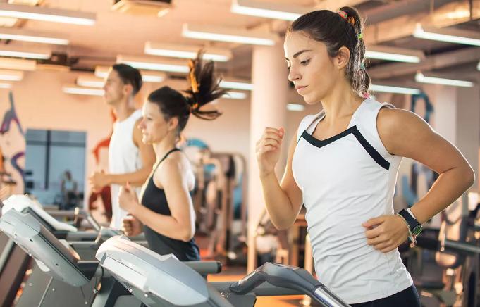 weight of treadmill